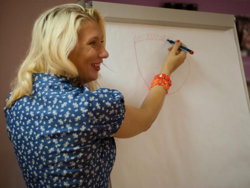 Тренинг с Екатериной Любимовой